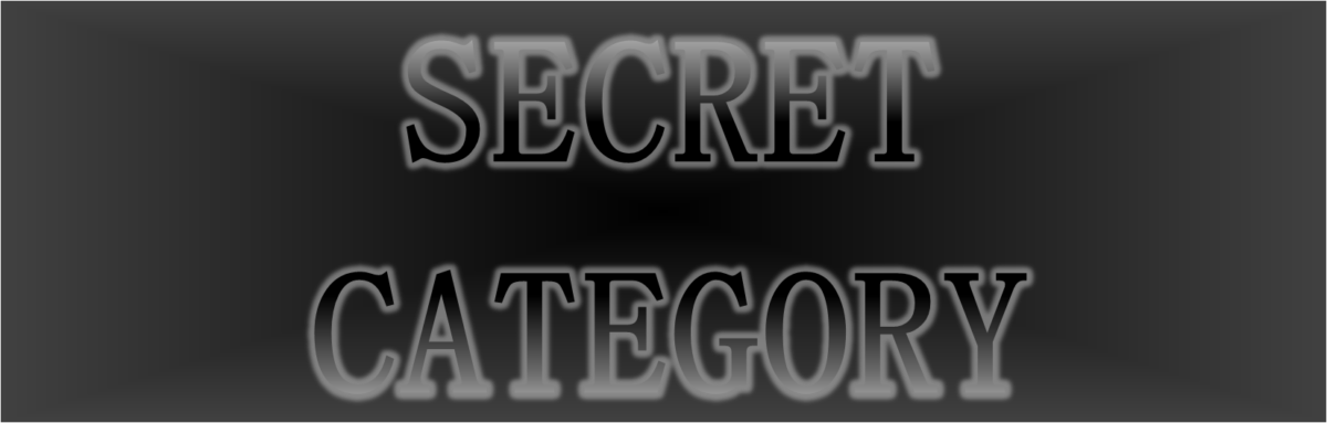 「SECRET CATEGORY」